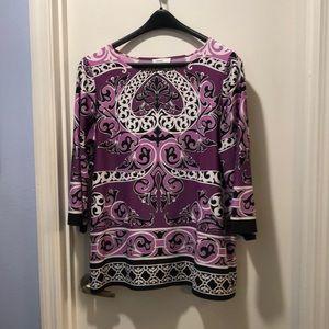 Multi-colored tunic